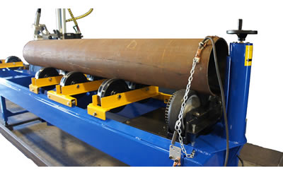 W-116 Long Straight Pipe Cutting and Beveling Machine