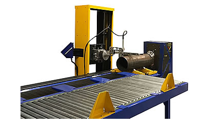CNC Plasma Pipe Cutting Machines - orbital pipe cutter beveling equipment