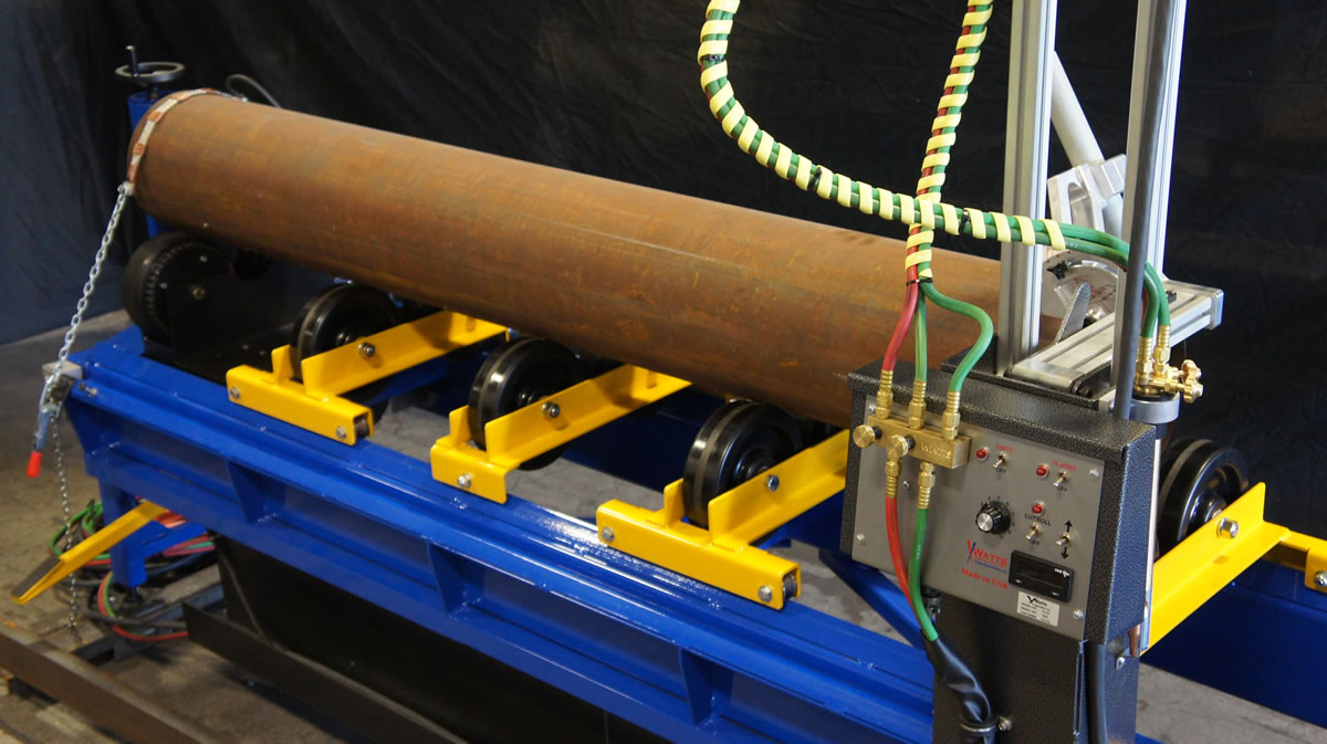 W-132 Long Straight Pipe Cutting and Beveling Machine