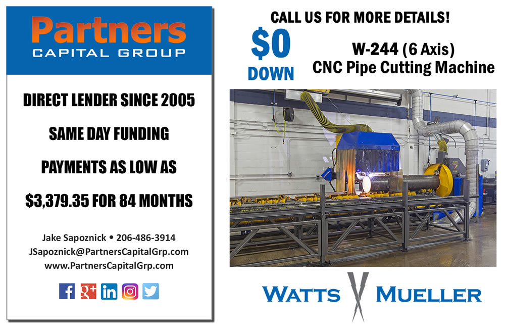 Watts-Mueller Opladen | In the News | FabTech 2013 - W-244 and W-484
