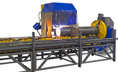 W-122, W-242, W-364 CNC Plasma Pipe Cutting-Beveling Machines