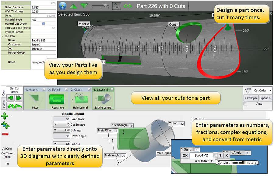 Cnc plasma tube cutting software