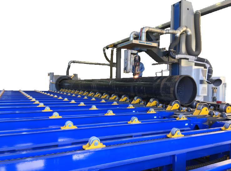 W-484 CNC Pipe Cutting Equipment